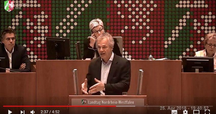 Johannes Rede zur EU-Förderpolitik